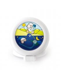 PABOBO Kid'Sleep Veilleuse réveil Globetrotter blanc