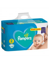 PAMPERS MINI TAILLE 2 100PCES