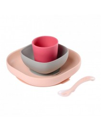 SILICONE MEAL SET 4 PCS